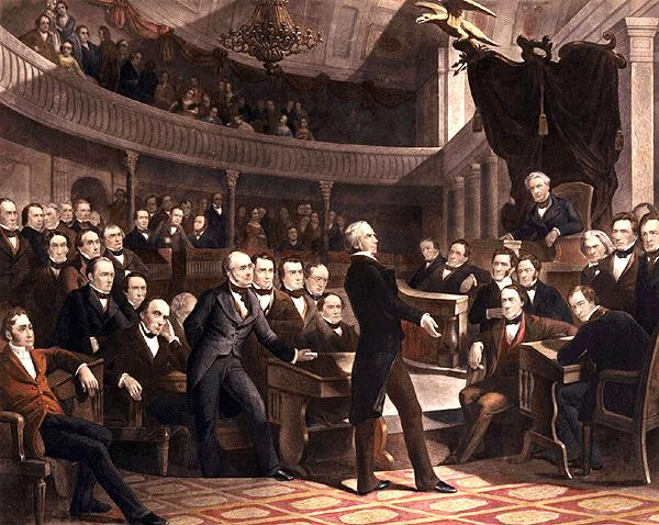 Henry Clay introduces the Compromise of 1850 to the Senate.