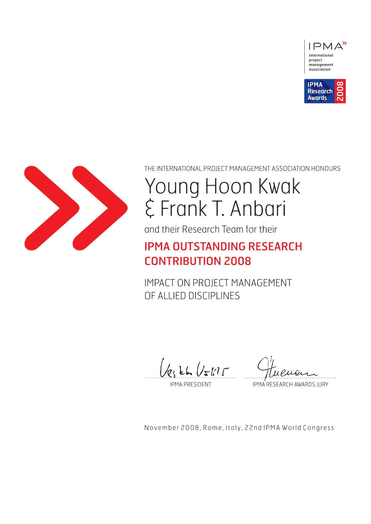 PMA Award